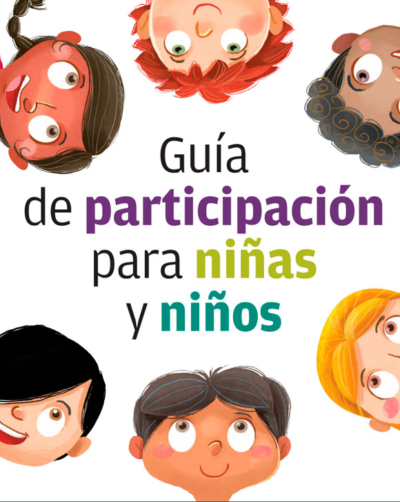 Guía de participación para niñas y niños.