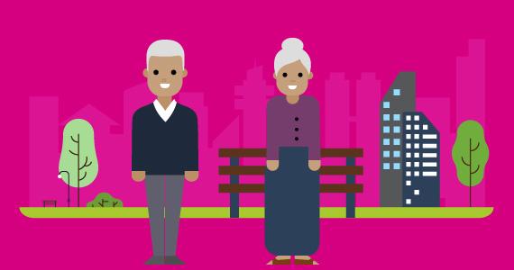 Igualdad - Personas adultas mayores