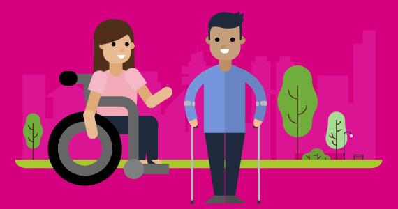 Igualdad - personas con discapacidad