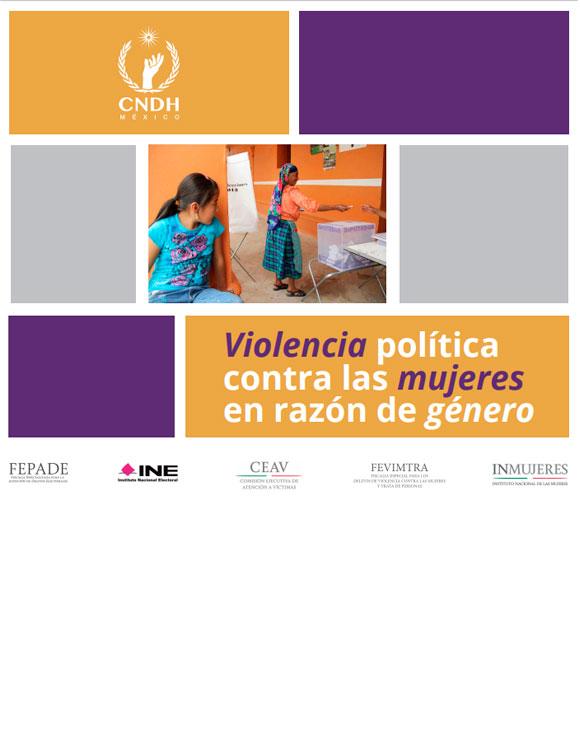Violencia política contra las mujeres en razón de género